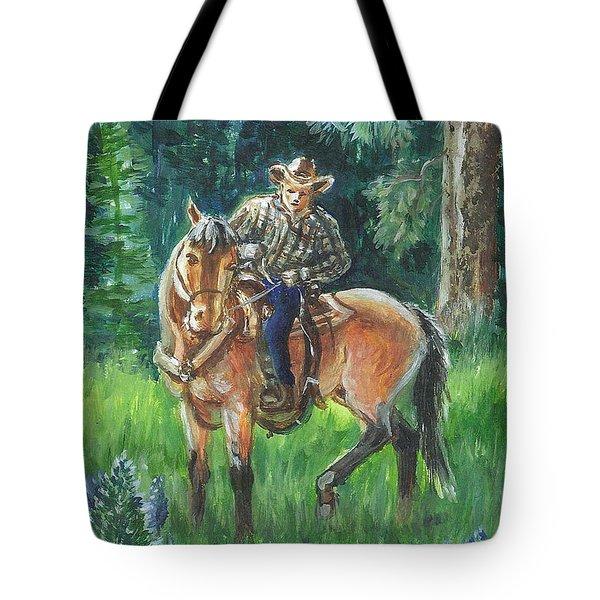 Juel Riding Chiggy-bump Tote Bag by Dawn Senior-Trask
