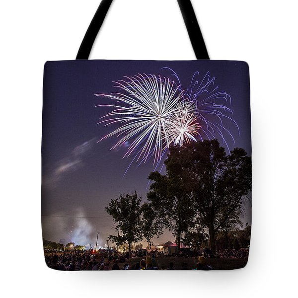 July 4th 2012 Tote Bag by CJ Schmit