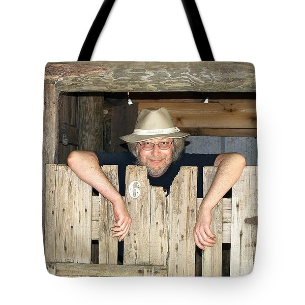 Just Hanging Out Tote Bag by Kenneth Albin