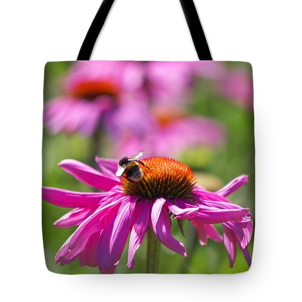 Just Pink  Tote Bag by Angela Doelling AD DESIGN Photo and PhotoArt
