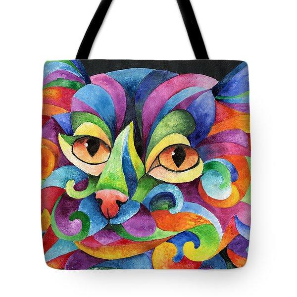 Kalidocat Tote Bag by Sherry Shipley
