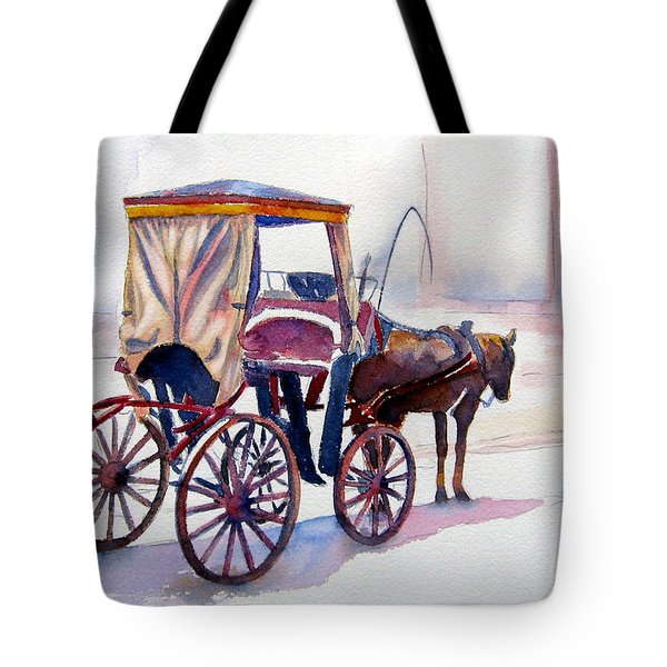 Karozzin Tote Bag by Marsha Elliott