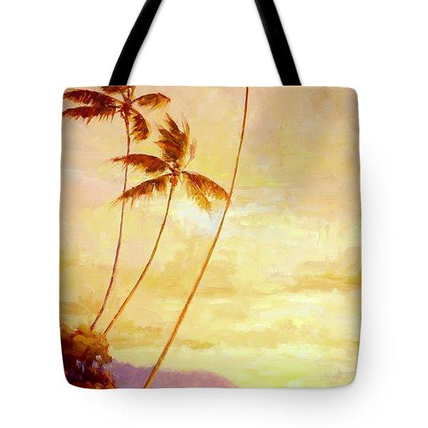 Kauai Sunset Tote Bag by Jenifer Prince