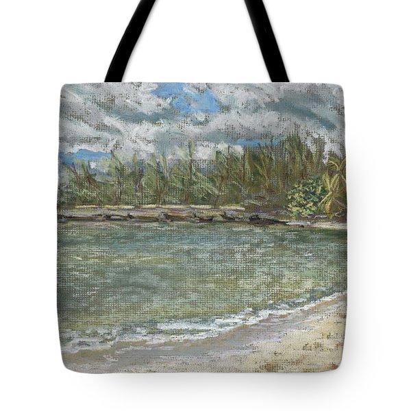 Kawela Bay Tote Bag by Patti Bruce - Printscapes
