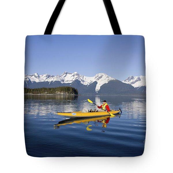 Kayaking Favorite Passage Tote Bag by John Hyde - Printscapes