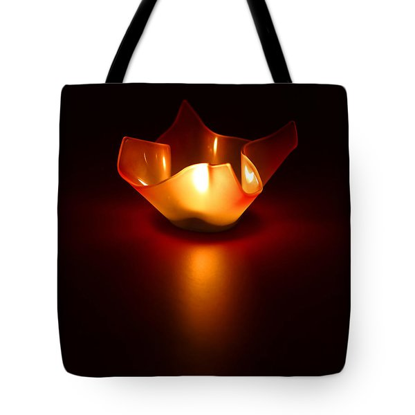 Keep The Light On Tote Bag by Evelina Kremsdorf