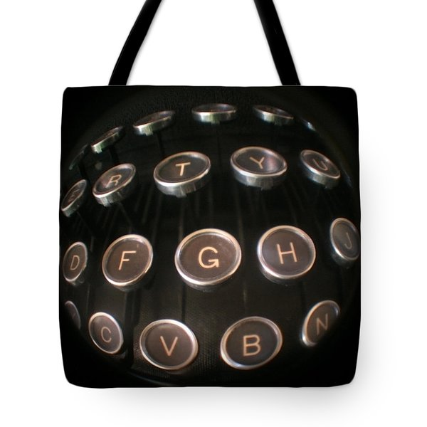 Key To Communication Tote Bag by Jeffery Ball