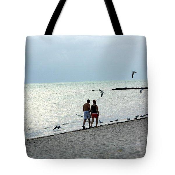 Key West Tote Bag by Marty Koch