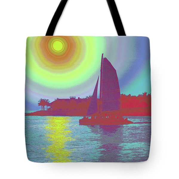 Key West Sun Tote Bag by Steven Sparks