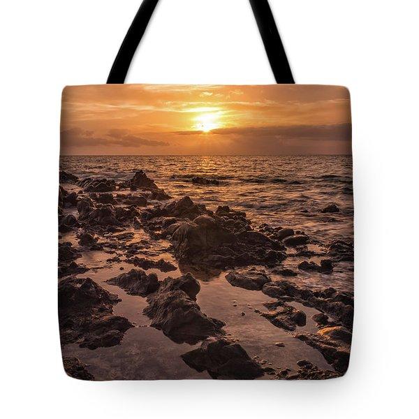 Kihei Sunset 2 - Maui Hawaii Tote Bag by Brian Harig
