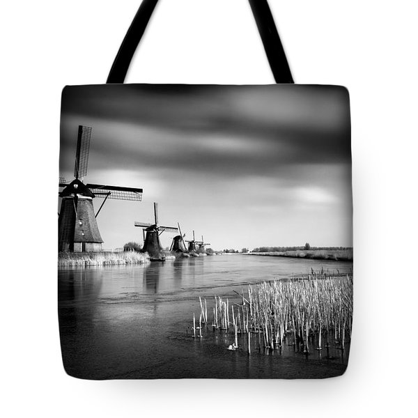 Kinderdijk Tote Bag by Dave Bowman