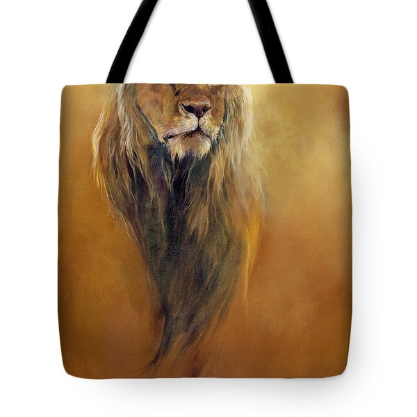 King Leo Tote Bag by Odile Kidd