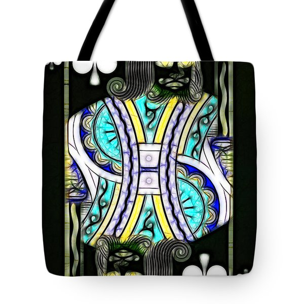 King Of Spades - V2 Tote Bag by Wingsdomain Art and Photography