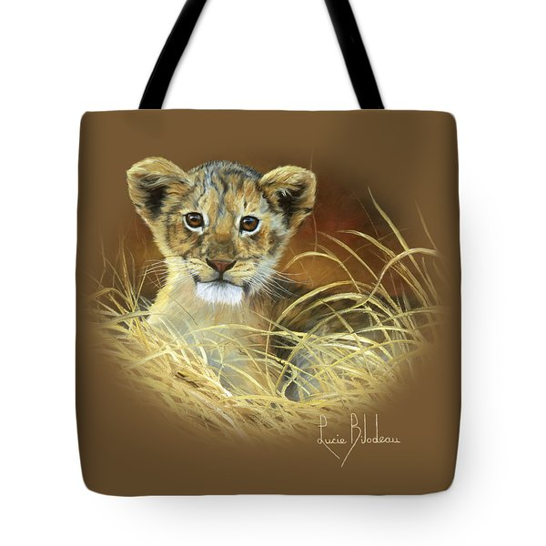 King To Be Tote Bag by Lucie Bilodeau