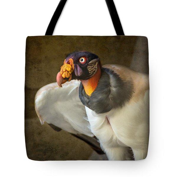 King Vulture Tote Bag by Jamie Pham