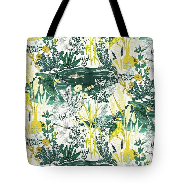 Kingfisher Tote Bag by Jacqueline Colley