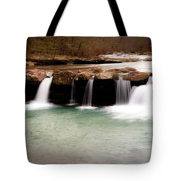 King's River Panorama Tote Bag by Tamyra Ayles