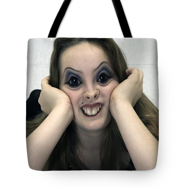 Kiss Me You Fool Tote Bag by Clayton Bruster