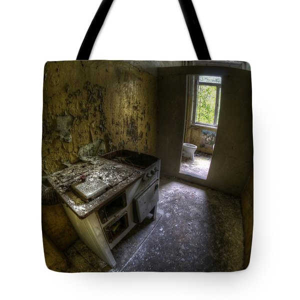 Kitchen With A Loo Tote Bag by Nathan Wright