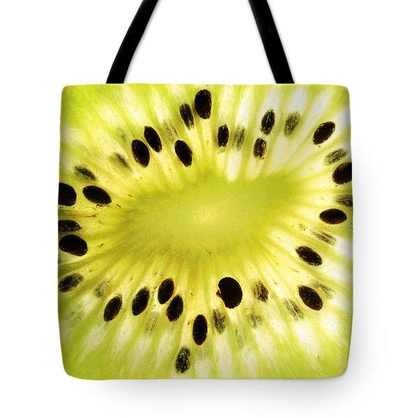 Kiwi Fruit Tote Bag by Paul Ge