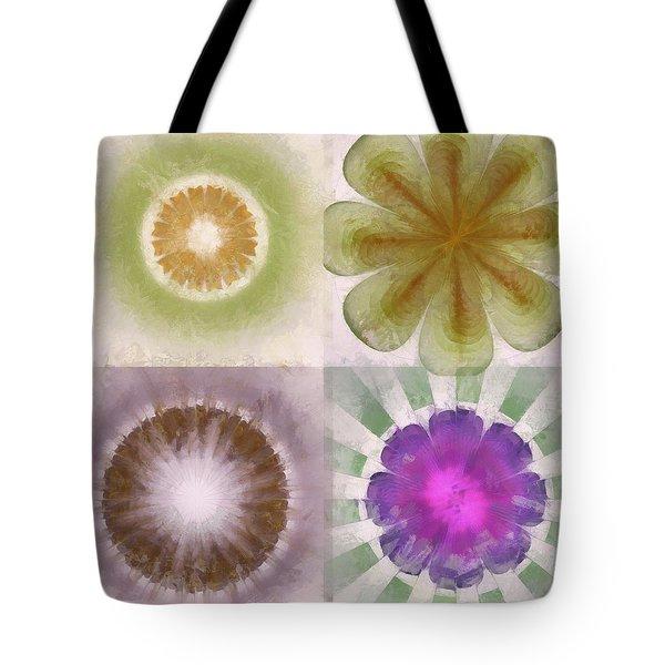 Flower Splendor Paintings Tote Bags for Sale