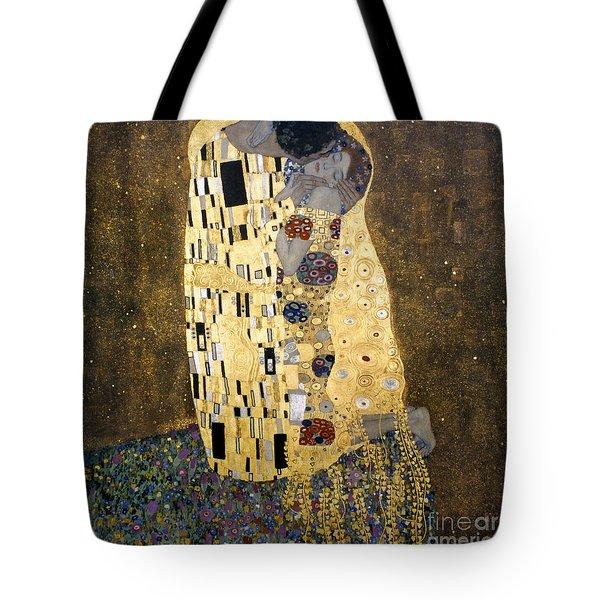 Klimt: The Kiss, 1907-08 Tote Bag by Granger