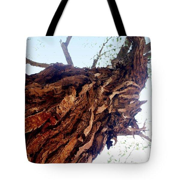 knarly Tree Tote Bag by Marty Koch