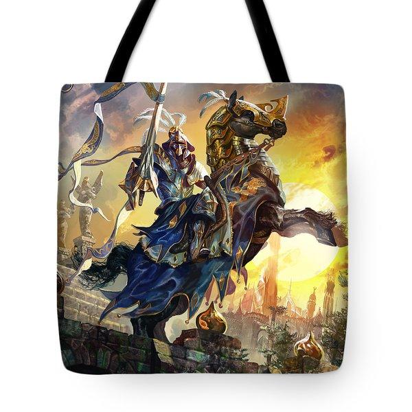 Knight Of New Benalia Tote Bag by Ryan Barger