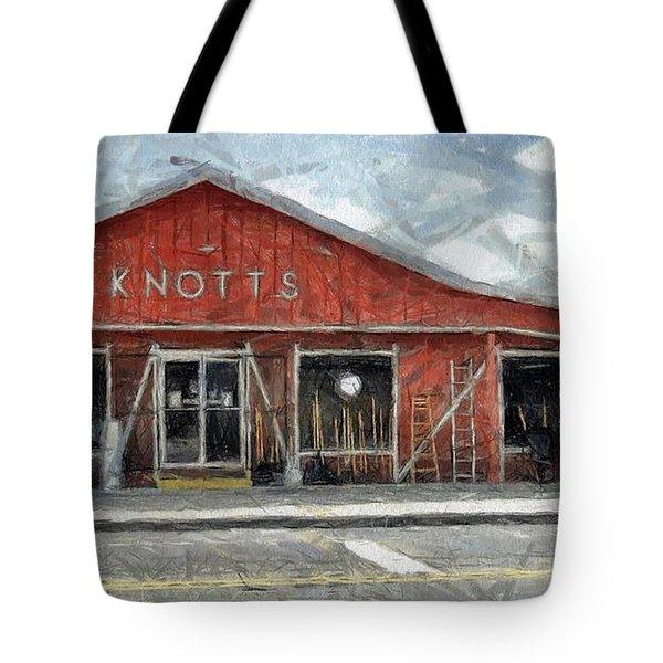 Knott's Hardware Tote Bag by Murphy Elliott