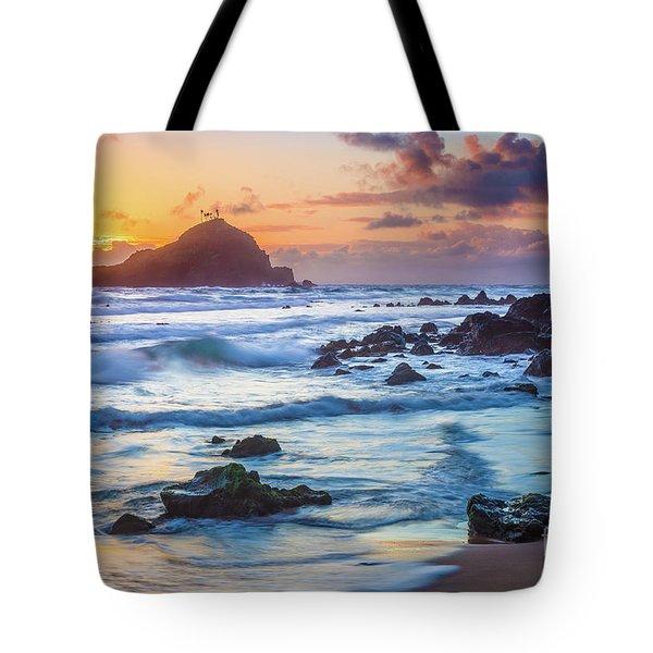 Koki Beach Harmony Tote Bag by Inge Johnsson