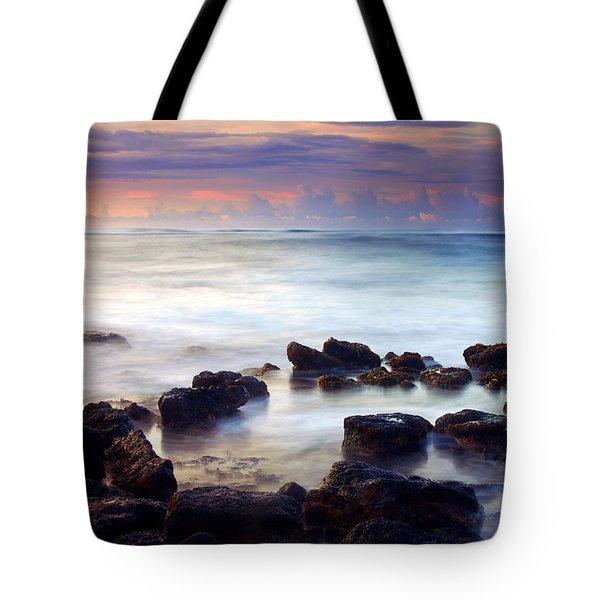 Koloa Sunrise Tote Bag by Mike  Dawson
