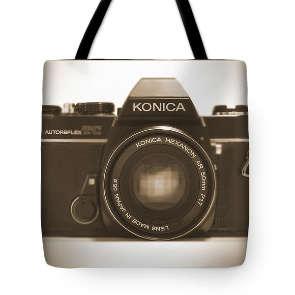 Konica TC 35mm Camera Tote Bag by Mike McGlothlen