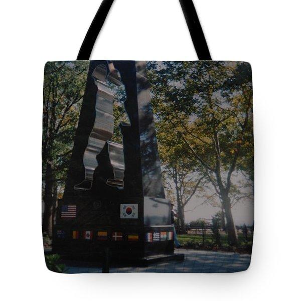 Korean War Memorial Tote Bag by Rob Hans