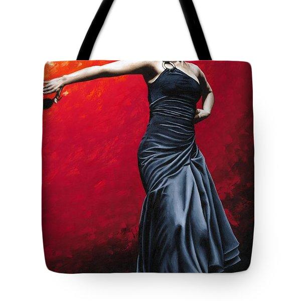 La Nobleza Del Flamenco Tote Bag by Richard Young