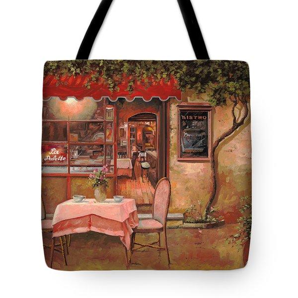 La Palette Tote Bag by Guido Borelli