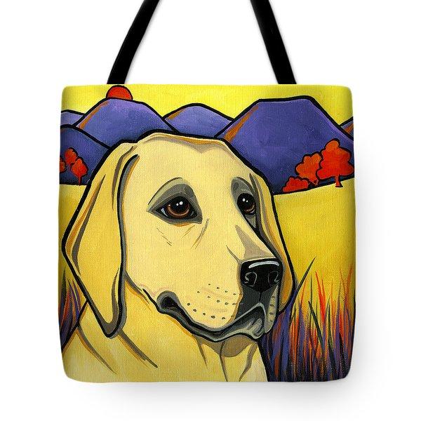 Labrador Tote Bag by Leanne Wilkes