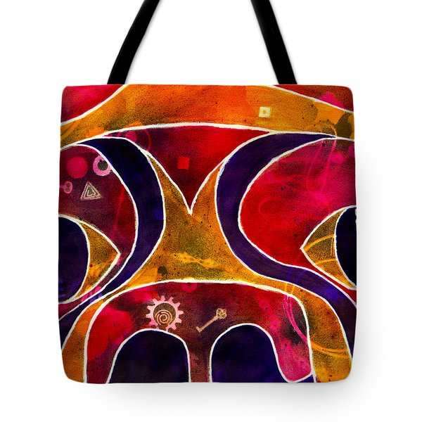 Labstract Tote Bag by Roger Wedegis