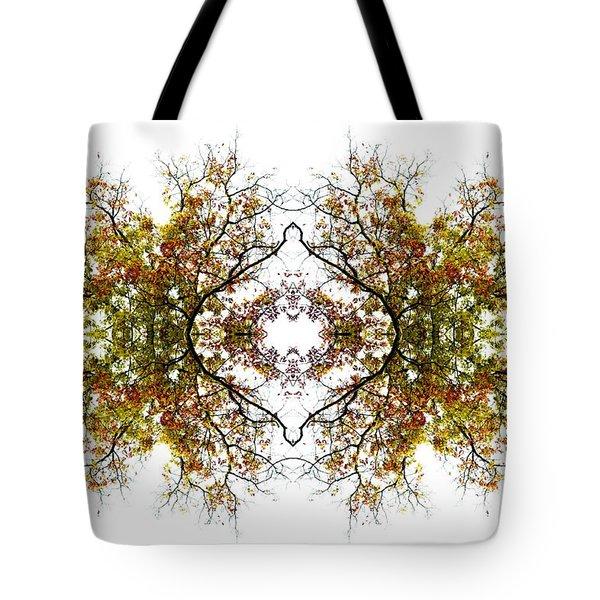 Lace Tote Bag by Debra and Dave Vanderlaan