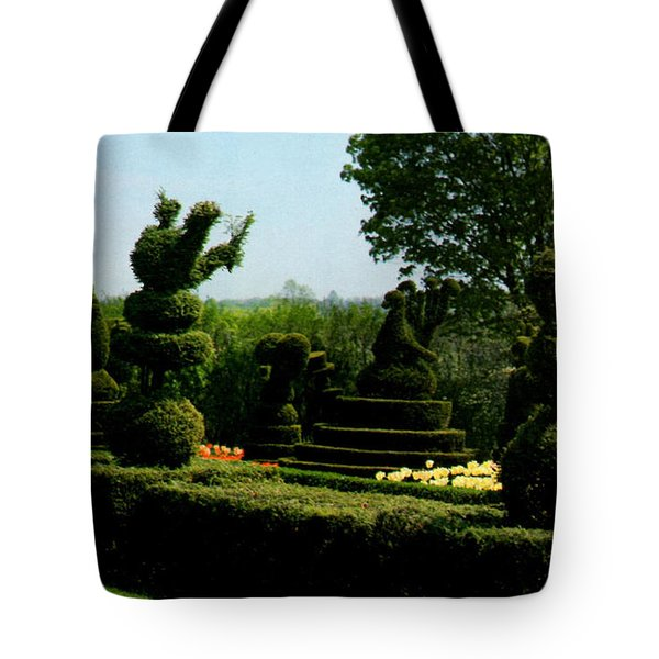 Ladew Topiary Gardens Tote Bag by Ruth  Housley