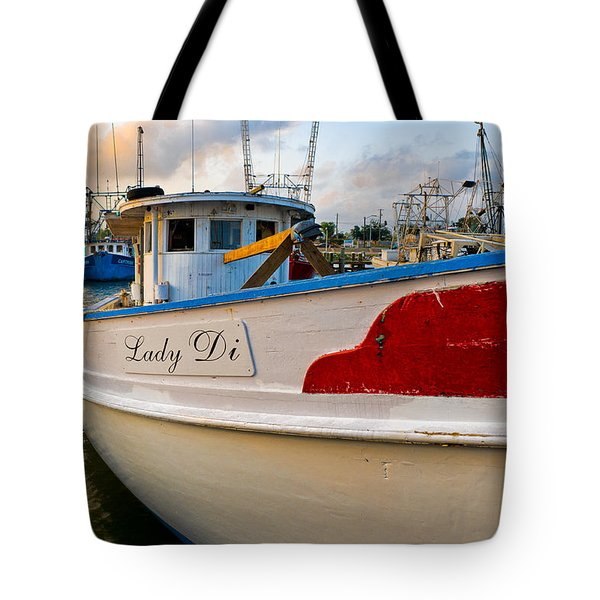 Lady Di Tote Bag by Christopher Holmes