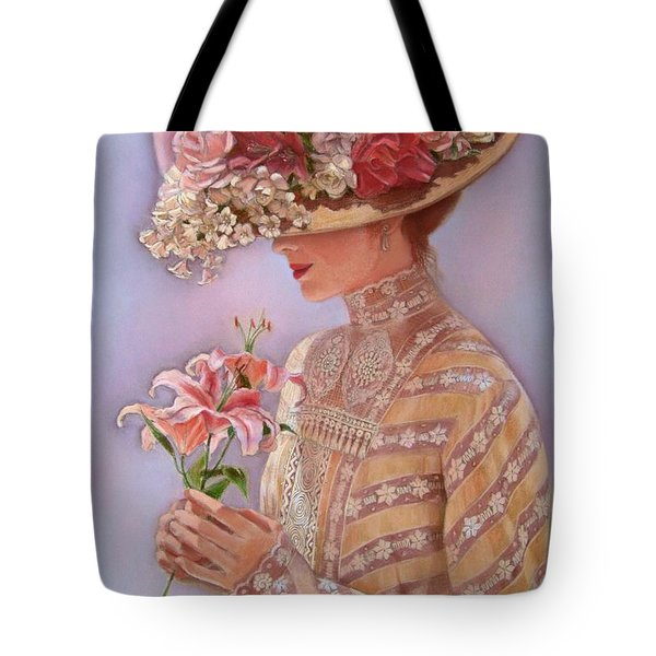 Lady Jessica Tote Bag by Sue Halstenberg