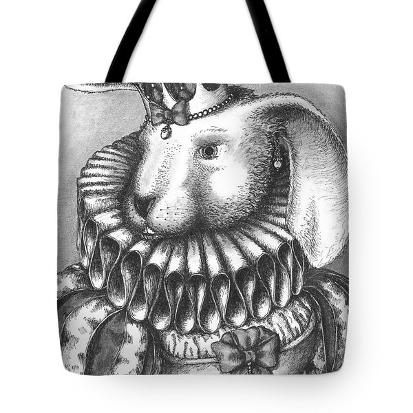 Lady Sadie Of Hoppington Tote Bag by Adam Zebediah Joseph
