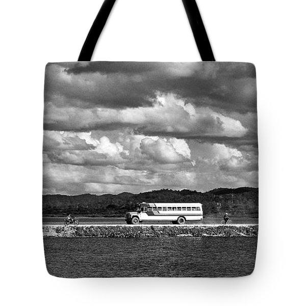 Lago Peten Itza - Guatemala Tote Bag by Juergen Weiss