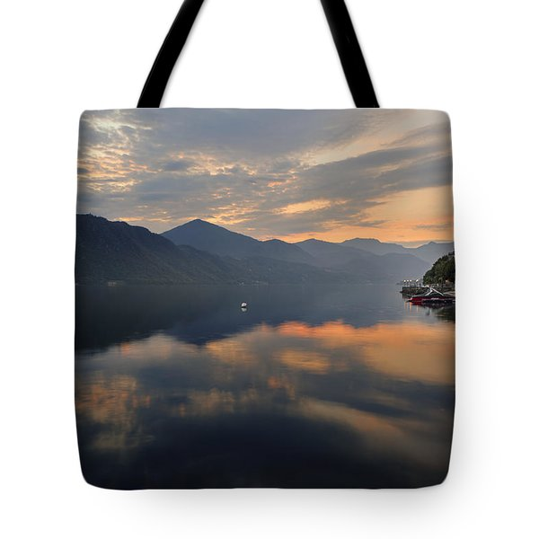 Lake Orta Tote Bag by Joana Kruse