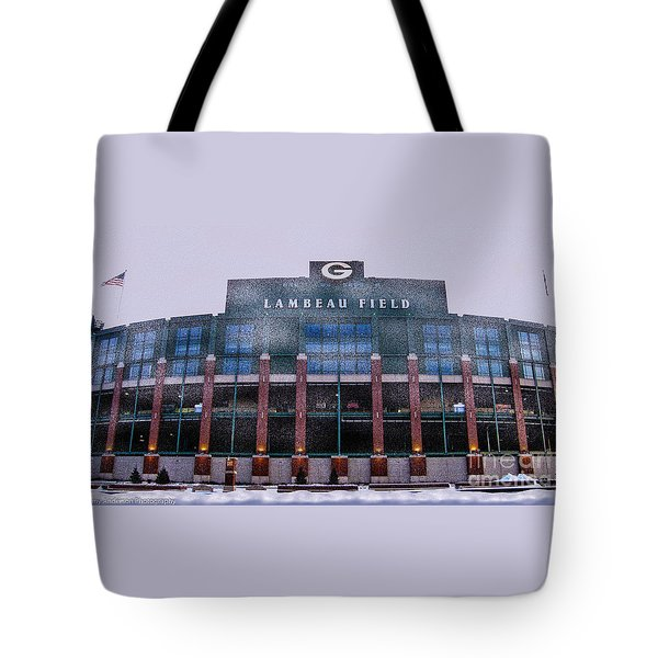 Lambeau  Tote Bag by Tommy Anderson