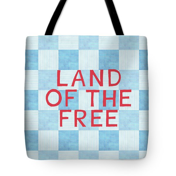 Land Of The Free Tote Bag by Linda Woods