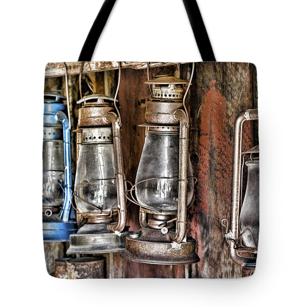 Lanterns Tote Bag by Kelley King
