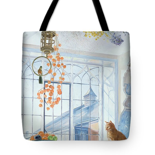 Lanterns Tote Bag by Timothy Easton