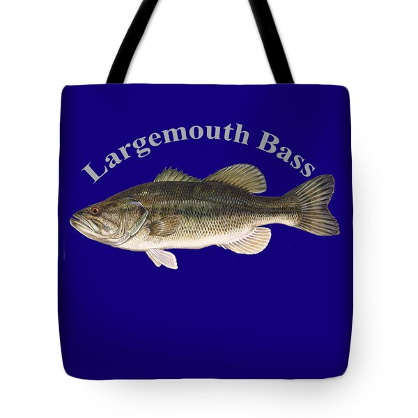 Bass fishing drawings tote bags for sale for Fishing r us