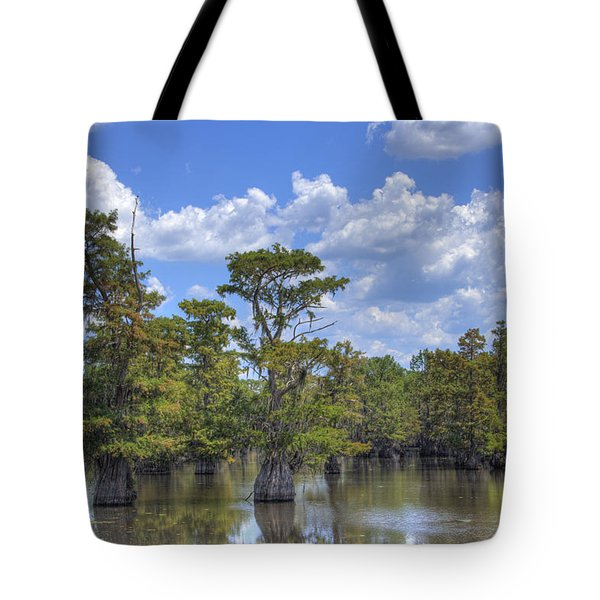 Largemouth Country Tote Bag by Barry Jones